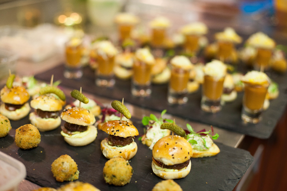 Canape catering gallimore catering for Canape caterers